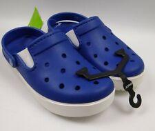 Crocs Citilane  Clog Unisex Cerulean Blue/White Size Men's 5 Women 7