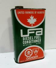 UFA United Farmers Of Alberta Diesel Fuel Conditioner tin can 32 Ounce