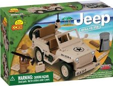 COBI - Small Army Vehicle ~ Willys MB Desert Jeep 100 Piece Block Set #NEW