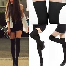 Women Fashion False High Socks Pantyhose Stockings Tights Slim Leg Hot