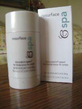 Beauticontrol Resurface Spa Microderm Apeel for Body! Full Size! Retail $35