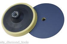 "125mm (5"") Medium/Hard Density Moss Style PSA Backing Pad Self Adhesive M14"