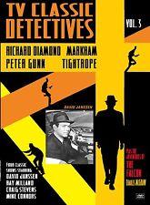 TV CLASSIC DETECTIVES Vol 3- RICHARD DIAMOND, TIGHTROPE, MARKHAM, THE FALCON