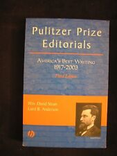 Pulitzer Prize Editorials : America's Best Writing, 1917 - 2003 Journalism