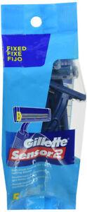 Gillette Sensor2 Fixed Disposable formerly Good News Men's Razor 5 Counts