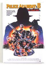 Police Academy 6 FRIDGE MAGNET (2 x 3 inches) movie poster city under siege