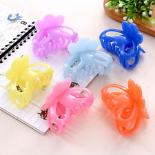 Fashion Women crab Hair claw clip Girls Plastic Mini Hairpin Claws Hair Clamp