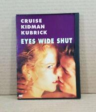 Eyes Wide Shut (DVD, 2000) 1999 Movie Stanley Kubrick Tom Cruise Nicole Kidman
