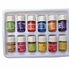 Essential Oil Set -12 Pack -100% Pure Natural Therapeutic Grade Oils Lot 3 ml