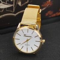 Unisex Frauen Herren Armband Quarz Uhren Edelstahl Armbanduhr :)