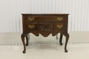 Ethan Allen Georgian Court Cherry Lowboy Chest #11-9205