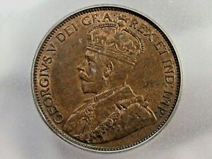 BU 1913 Large Cent CANADA ICG MS63 RB.  #8