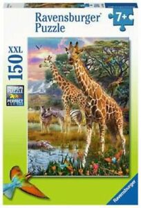 150 Teile Puzzle XXL Bunte Savanne | Ravensburger 12943 | Kinderpuzzle ab 7 Jahr
