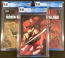 Ronin Island #1 CGC 9.8 Variant Set Anka Virgin, La Fuente,Young!! Boom Studios