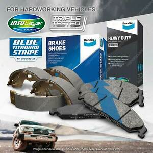 Bendix HD Brake Pads Shoes Set for Ford KA TA TB 1.3 44 kW FWD Hatchback