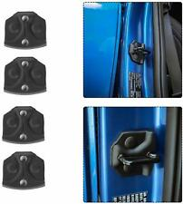 4Pcs Door Lock Cover Buckle Decor Trim For Ford F150 2015-2019 Accessories