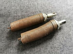 2 x fixed springs for Anglepoise 1227 lamp. Herbert Terry spares.