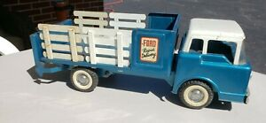 Vintage Nylint Ford Rapid Delivery Lift Gate Stake Truck