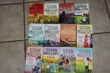SUSAN MALLERY NOVELS 100% FOOL'S GOLD SERIES PAPERBACK ROMANCE HUGE 12 BOOK LOT