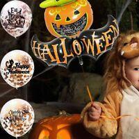les ballons de latex jouets gonflables des confettis décoration d'halloween