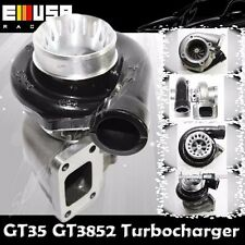 EMUSA BLACK GT35 GT3582 TURBO CHARGER T3 AR.70/82 ANTI-SURGE COMPRESSOR