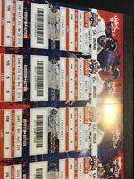 2018 Astros Ticket Stub, new unused, season ticket style - pick the game! Angels
