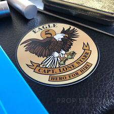 Spaceballs - Prop 'Eagle 5' Lone Starr Case Sticker / Vehicle Equipment Decal