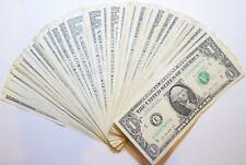USA: 20 x $1 Dollar banknotes / bills. $20 USD in total..