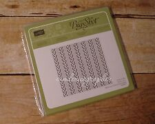 NEW Stampin' Up Cable Knit Dynamic Textured Impressions Embossing Folder