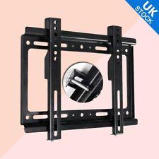 LCD LED Plasma TV wall mount bracket Fixed Flat  14 19 21 24 26 32 37 40 42 UK
