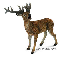 RED DEER STAG   Buck   CollectA # 88469 Woodland Animal Replica NWT