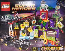 Lego DC Comics Super Heroes 76035 Jokerland Jocker Land incl. 8 Figuren NEU