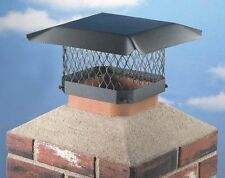 NEW HY-C SC99 9X9 STEEL BLACK STOVE CHIMNEY PIPE CAP SHELTER COVER USA 6321475