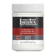 Liquitex Professional Gloss HEAVY Gel Medium DENSO brillante per acrilico 237 ml