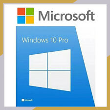 GENUINE WINDOWS 10 PROFESSIONAL PRO KEY 32/64 BIT ACTIVATION CODE LICENSE KEy