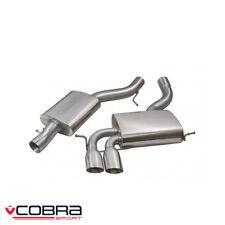 Cobra Sport Audi A3 8P Sportback 3.2 V6 Quattro Cat Back Exhaust (R) - AU19
