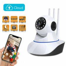 Hd1080P Wireless Wifi Ip Panoramic Camera Ir Night Vision Alarm Baby Pet Monitor
