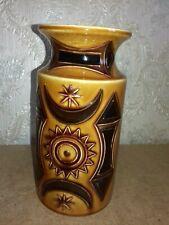 Ancien vase ceramique anglaise signée. .