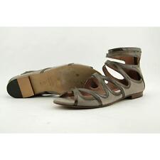 L'Autre Chose Gumbo Women US 10 Gray Gladiator Sandal Pre Owned  1495