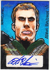 2014 POP CENTURY DAVE SHARPE SKETCH AUTO: ADAM BALDWIN #1/1 OF ONE AUTOGRAPH
