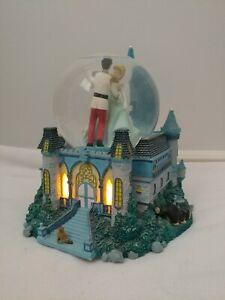 Disney Princess Cinderella Musical Snow Globe A Dream Is A Wish Your Heart Makes