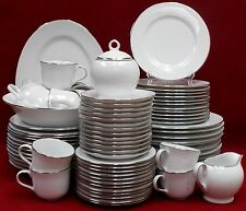 ROYAL DOULTON china SIMPLY PLATINUM TC1310 78 Piece Set  dinner/salad/bread/soup