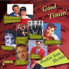 GOOD TIMIN'-ROCKIN' INTO THE 60'S 2 CD NEU JIMMY JONES/BETTY CLOONEY/JACK SCOTT