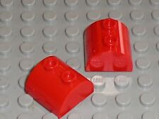 2 x LEGO Red brick ref 30165 / set 76054 70809 76052 8075 3315 31020 31003 30211
