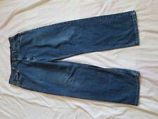 "MENS TOMMY HILFIGER FADED BLUE BOOTCUT JEANS SIZE 33"" WAIST 31"" LEG"