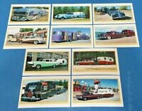 Set of 10 NEW Vintage Car Caravan RV Summer Vacation Holidays Postcrossing