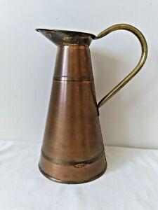 Vintage Peerage Copper Brass Pitcher