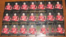 2016-17 Select Wayne Rooney Terrace Base LOT of 33 #17 England 2017