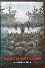 War For The Planet Of The Apes Orig Movie Poster 27x40 Advance Version