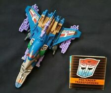 Transformers G1 Pretenders: THUNDERWING is 100% Complete Vintage